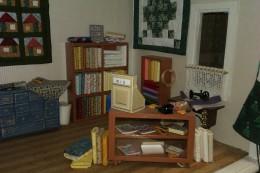 Kassahoek met boeken e.d.